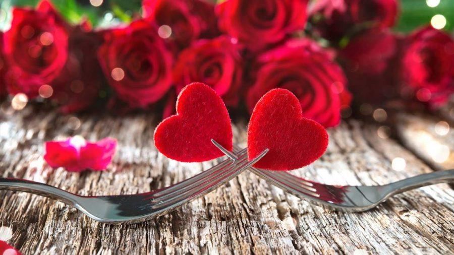 Candle-Light-Dinner am Valentinstag
